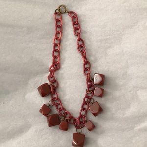 VINTAGE EUC  1930's Chunky Fun Necklace
